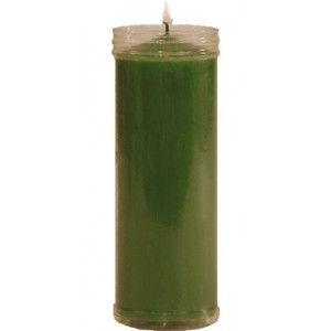Velón Color Verde