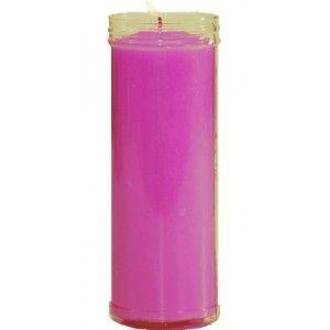 Velón Color Violeta