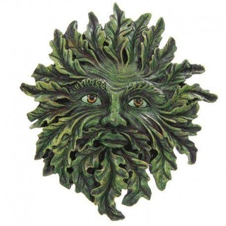 Placa de Pared Hombre Verde, Verde claro