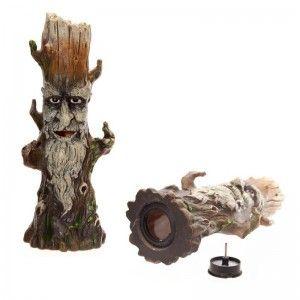 Quemador de varillas de incienso hombre verde del árbol