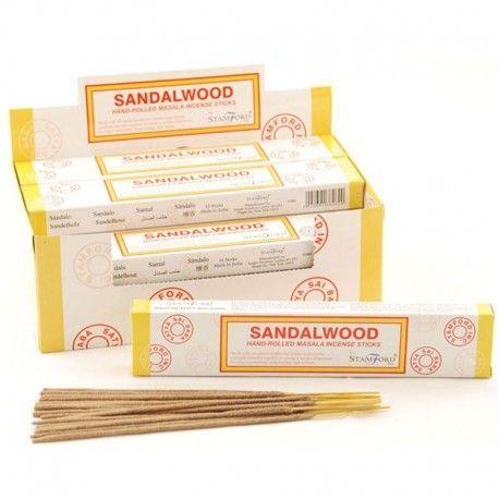 Varillas de incienso Stamford Masala - Sandalwood