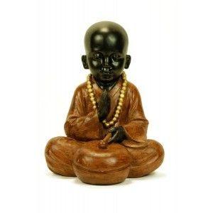 Figura monje sentado