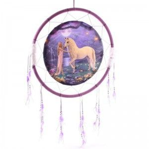Atrapasueños Fantasía Jardín unicornio - Aro 60 cm - AGOTADO -