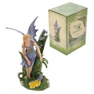 Hadas cuentos de Avalon de Lisa Parker-Hada Azul Floral