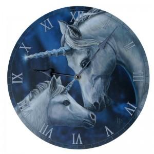 Reloj de Pared - Imagen de Unicornio Amor Sagrado - Lisa Parker